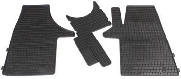 Резиновый автомобильный коврик Frogum FRD0073, 3 шт.