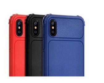 Чехол Devia Shark1 Shockproof Case For iPhone XS, синий, 5.8 ″