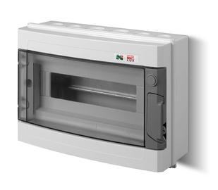 Virštinkinė automatinių jungiklių dėžutė Elektroplast, 12 modulių
