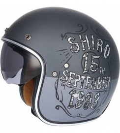 Shiro Helmet SH-235 Born Matt Grey M
