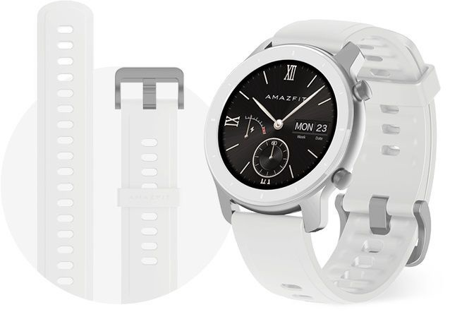 Xiaomi Amazfit GTR 42mm Moonlight White