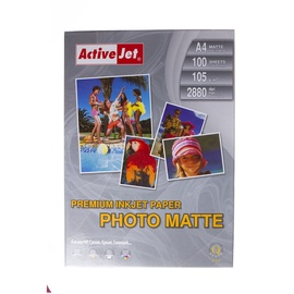 Fotopopierius Active Jet AP4-105M100, matinis, A4