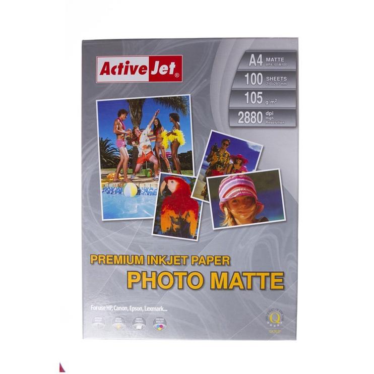 Fotopaber ActiveJet Photo Paper Matte A4