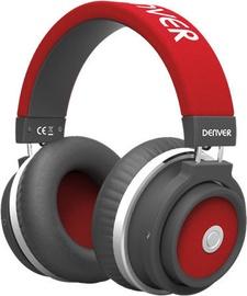 Denver BTH-250 Bluetooth Over-Ear Headphones Red