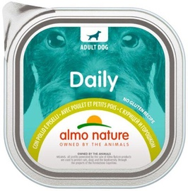 Almo Nature Daily Chicken & Peas 100g