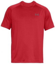 Under Armour Tech 2.0 Short Sleeve Shirt 1326413-600 Red S