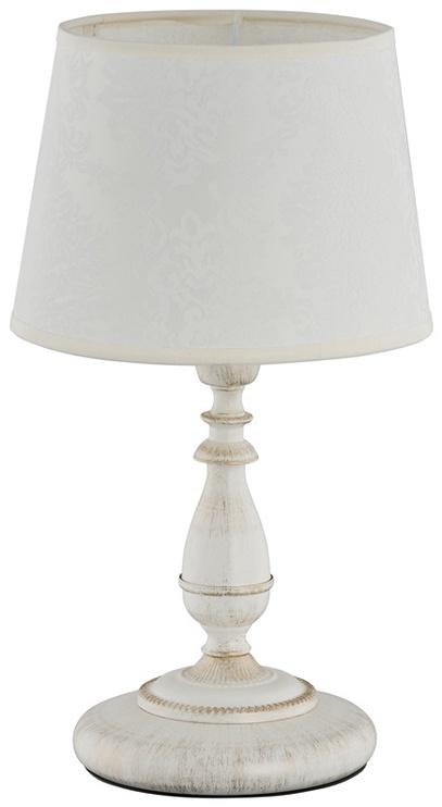 Galda lampa Alfa 18538 Roksana 1x40W E14, balta