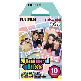 Fotojuosta Fujifilm Instax Mini Stained Glass, 10 vnt.