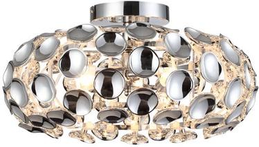 Light Prestige Ferrara L Ceiling Lamp 3x60W E14 Chrome