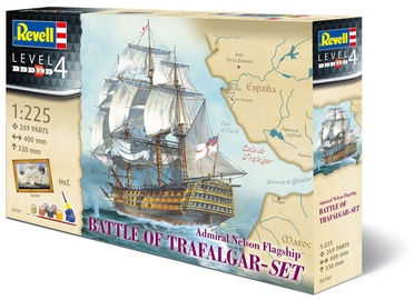 Revell Constructor Admiral Nelson Flagship Battle Of Trafalgar- Set 05767