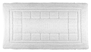 Vonios kilimėlis Saniplast Sibylle 324143, baltas, 55 x 90 cm