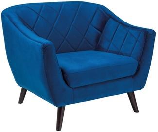 Fotelis Signal Meble Molly Velvet 1 Blue, 83x78x105 cm