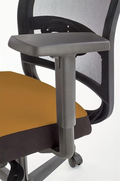 Halmar Bravo Office Chair C-11 Black/Mustard