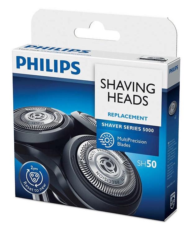 Peiliukų rinkinys Philips SH50/50, 3 vnt.