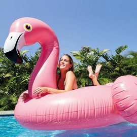 Plaustas Intex Mega Flamingo, 218 x 211 cm