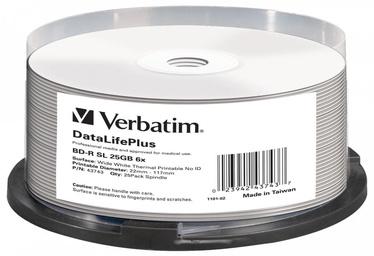 Verbatim 25x 25GB BluRay BD-R 43743