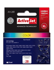 ActiveJet Ink Cartridge For HP 21ml Colour