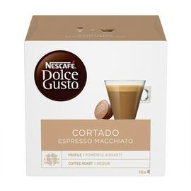 Kavos kapsulės Nescafe Dolce Gusto Cortado Espresso Macciato, 101 g., 16 vnt.