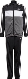 Adidas Essentials Tiberio Track Suit GN3970 Grey/Black 152cm
