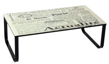 Signal Meble Taxi II Text Coffee Table Multi