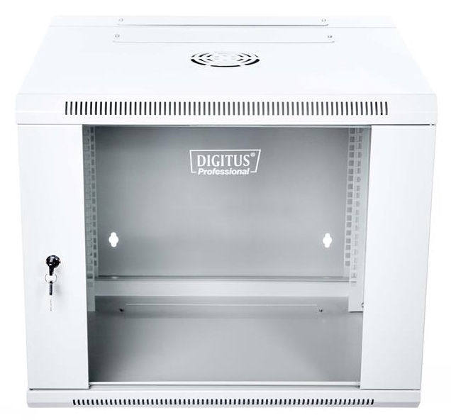 """Digitus Double Section Wall Cabinet 19"""" 9U/550 mm Grey"""