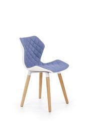 Стул для столовой Halmar K277 Sky Blue/White
