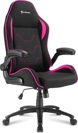 Sharkoon Elbrus 1 Gaming Chair Black Pink