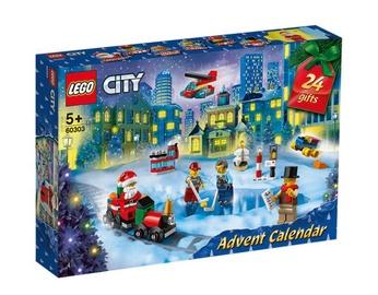 Konstruktor LEGO City advendikalender 60303, 349 tk