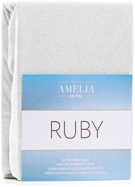 AmeliaHome Ruby Frote Bedsheet 140-160x200 White 01