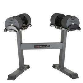 Finnlo Smart Lock Dumbell System 2x20 kg + Stand