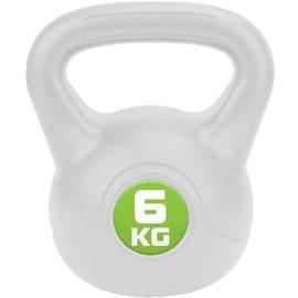 Meteor Bitumic Kettlebell Green/White 6kg