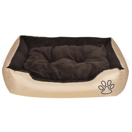 Кровать для животных VLX Dog Bed, серый, 750 мм x 580 мм