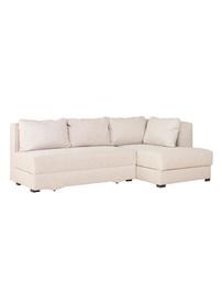 Stūra dīvāns Bodzio Judyta Noble Latte, labais, 225 x 155 x 77 cm
