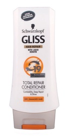 Plaukų kondicionierius Schwarzkopf Gliss Kur Total Repair 19 Conditioner, 200 ml