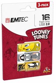 Emtec M750 Looney Toons 16GB USB 2.0 Pack 3