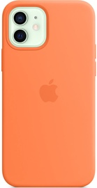 Apple iPhone 12/12 Pro Silicone Case with MagSafe Kumquat