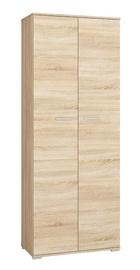 Skapis ML Meble Optimal 01 Sonoma Oak, 79x41x204 cm