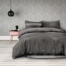 Gultas veļas komplekts AmeliaHome Basic, pelēka, 135x200/50x75 cm
