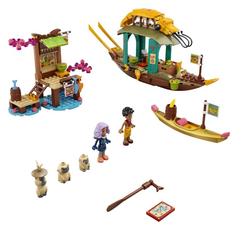 Constructor LEGO Disney Bouns Boat 43185