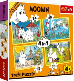PUZLE SET 4IN1 MOOMIN 34368T
