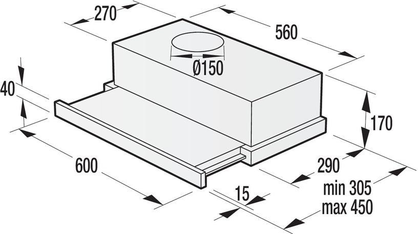 Garų rinktuvas Gorenje BHP623E12X