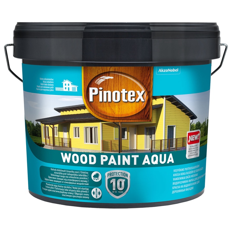 Pinotex Wood Paint Aqua, 9 l