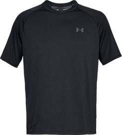 Under Armour Tech 2.0 Short Sleeve Shirt 1326413-001 Black M