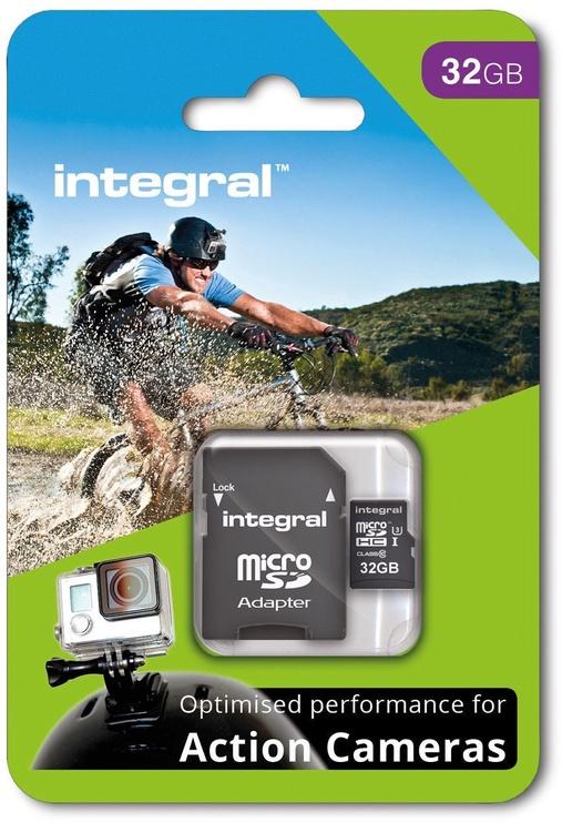Integral 32GB micro SDHC/SDXC UHS-I Class 3 + SD Adapter