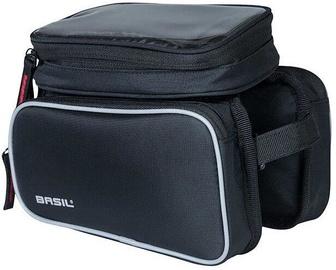 Basil Sport Design Double Frame Bag Black 1.5l