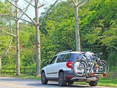Велосипедный держатель для автомобилей BuzzRack Buzzwing 4