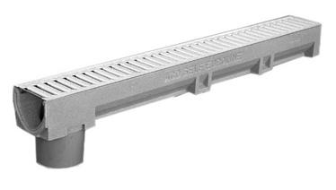 Drenažo latakas su Ø 110 mm vamzdžiu Aco Self Euroline, 1 m