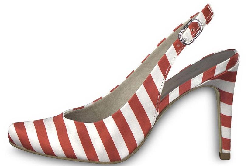 Tamaris Joie Pumps 1-1-29614-30 Red Stripes 38