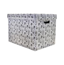 Dėžė su dangčiu ir rankena, 47 x 33 x 32 cm
