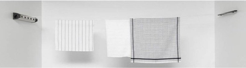 Brabantia Pull-Out Clothes Line 22m Matt Steel